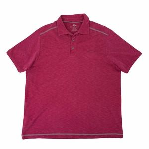 Tommy Bahama Polo Shirt Short Sleeve Lyocell READ